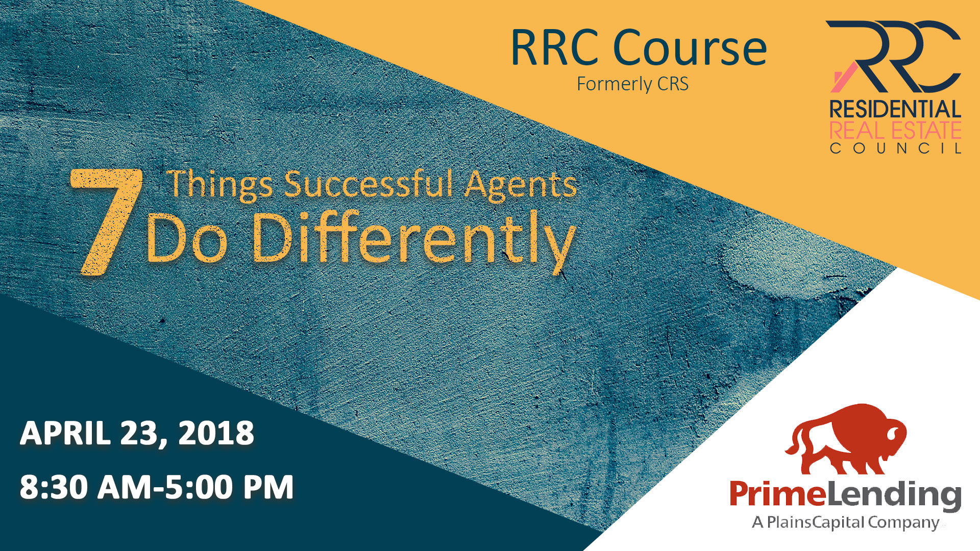 RRC Course: 7 Things Successful Agents Do Differently