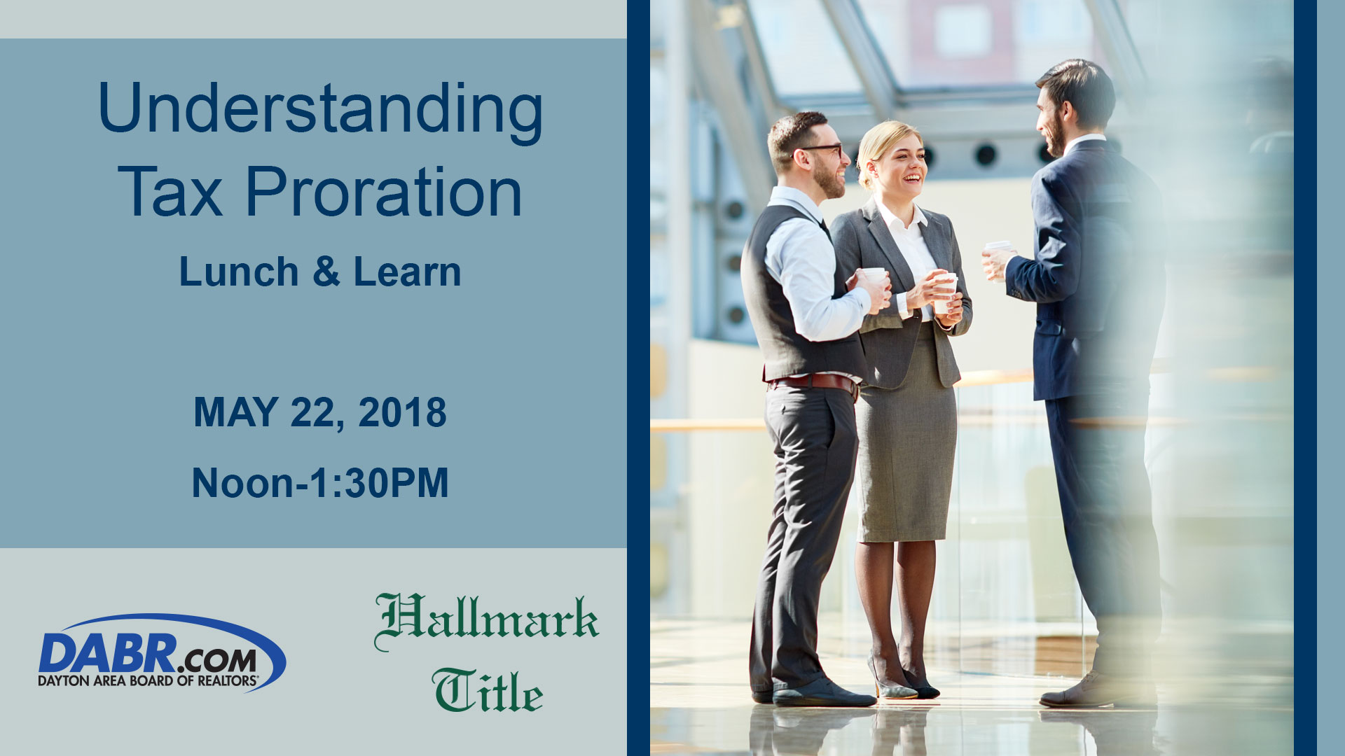 Understanding Tax Proration: Lunch & Learn