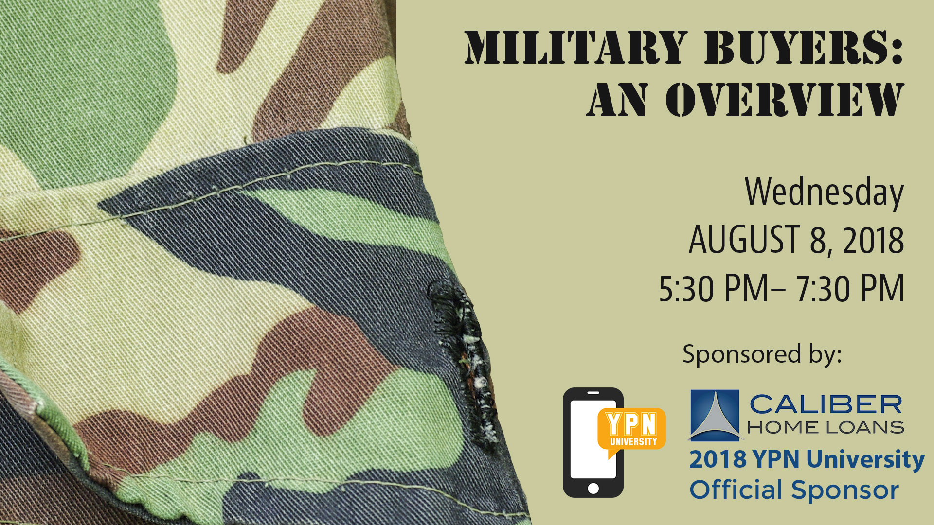 Military Buyers: An Overview, Aug. 8