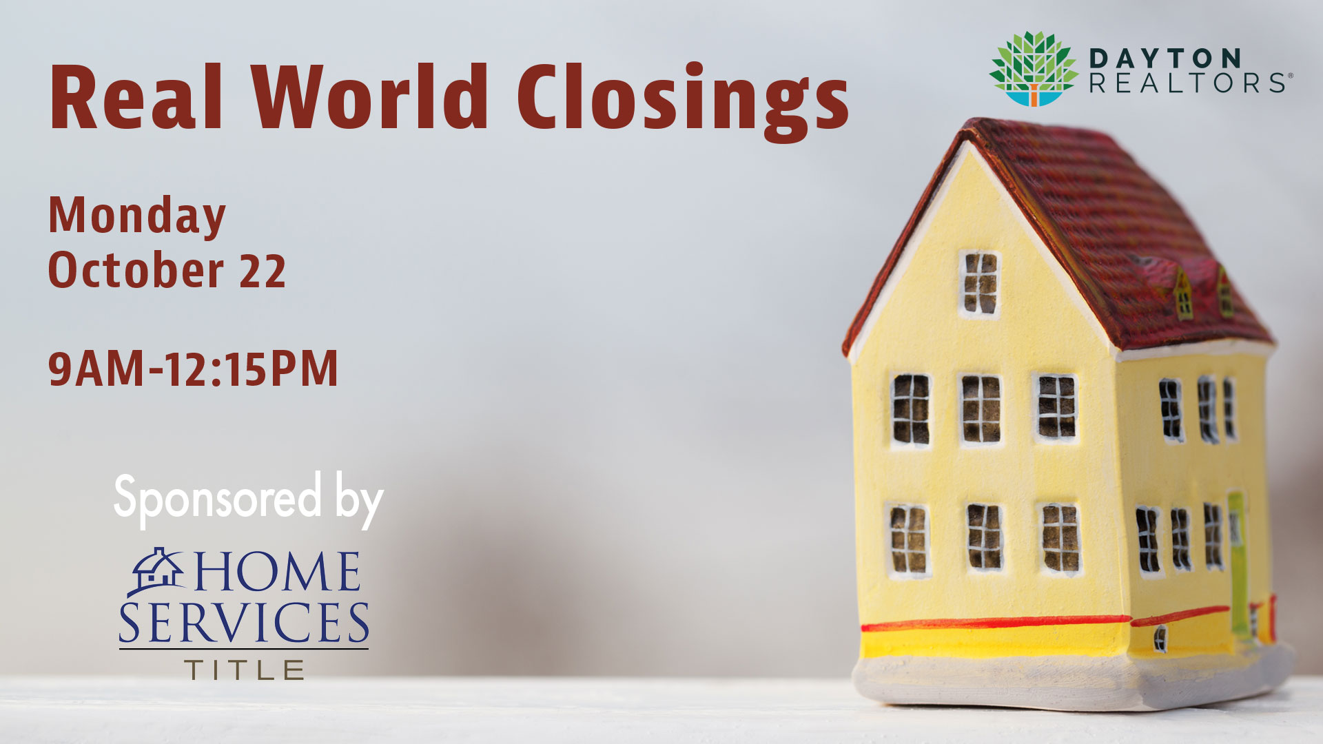 Real World Closings, Oct. 22