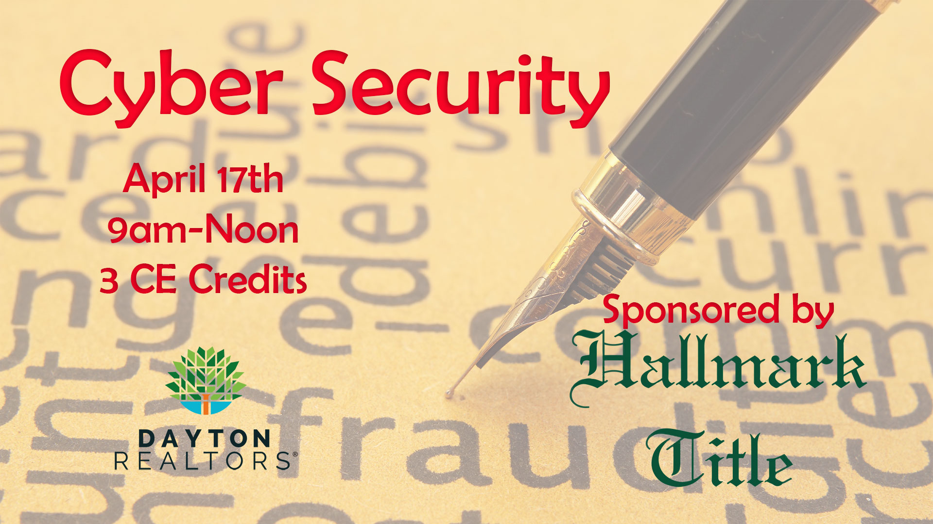 Cyber Security, April 17