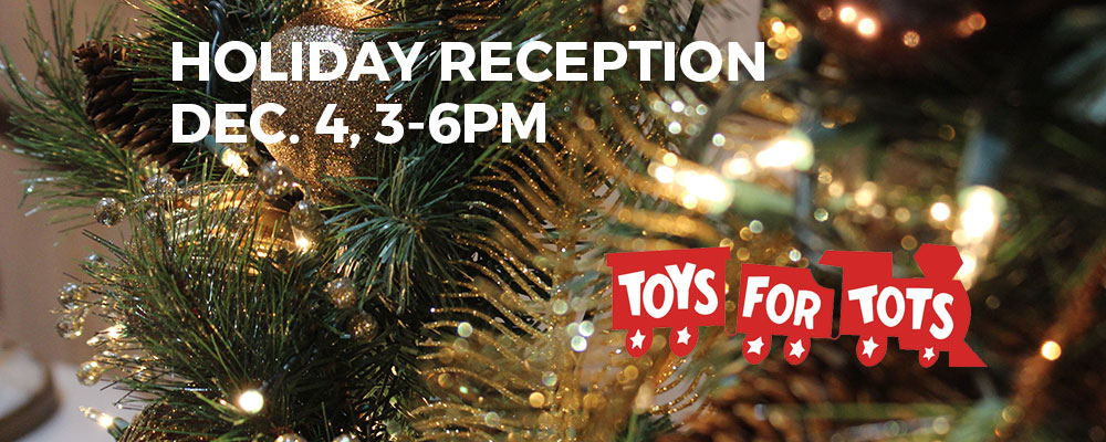 Holiday Reception, December 4
