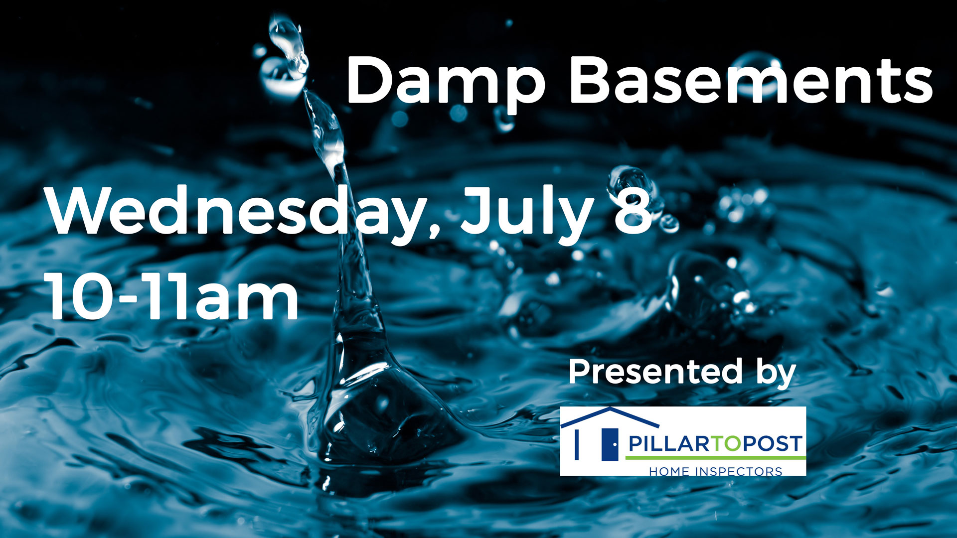 Damp Basements Class, July 8