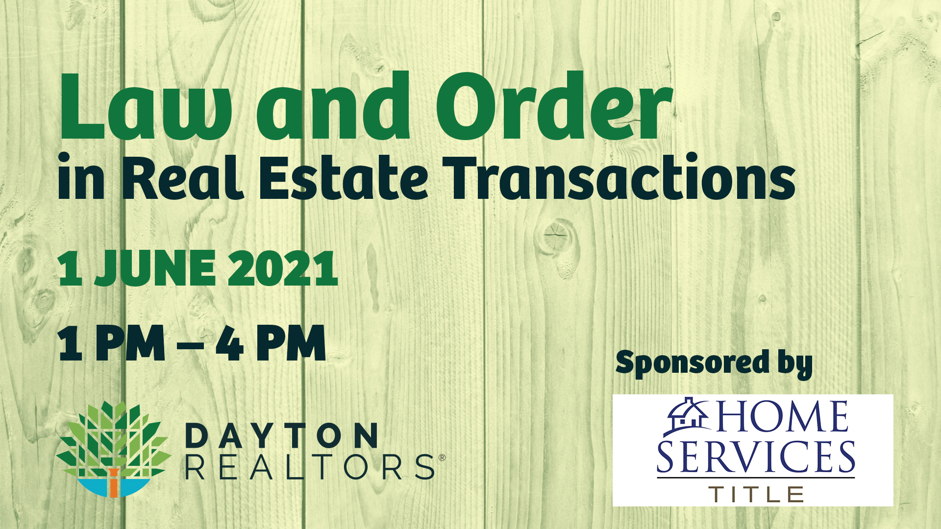 Law & Order in Real Estate Transactions, June 1